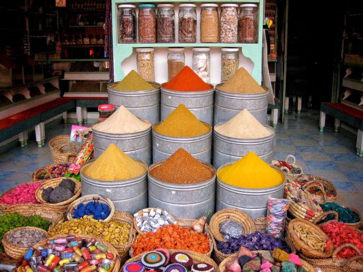 Spice Market Marrakech Morocco