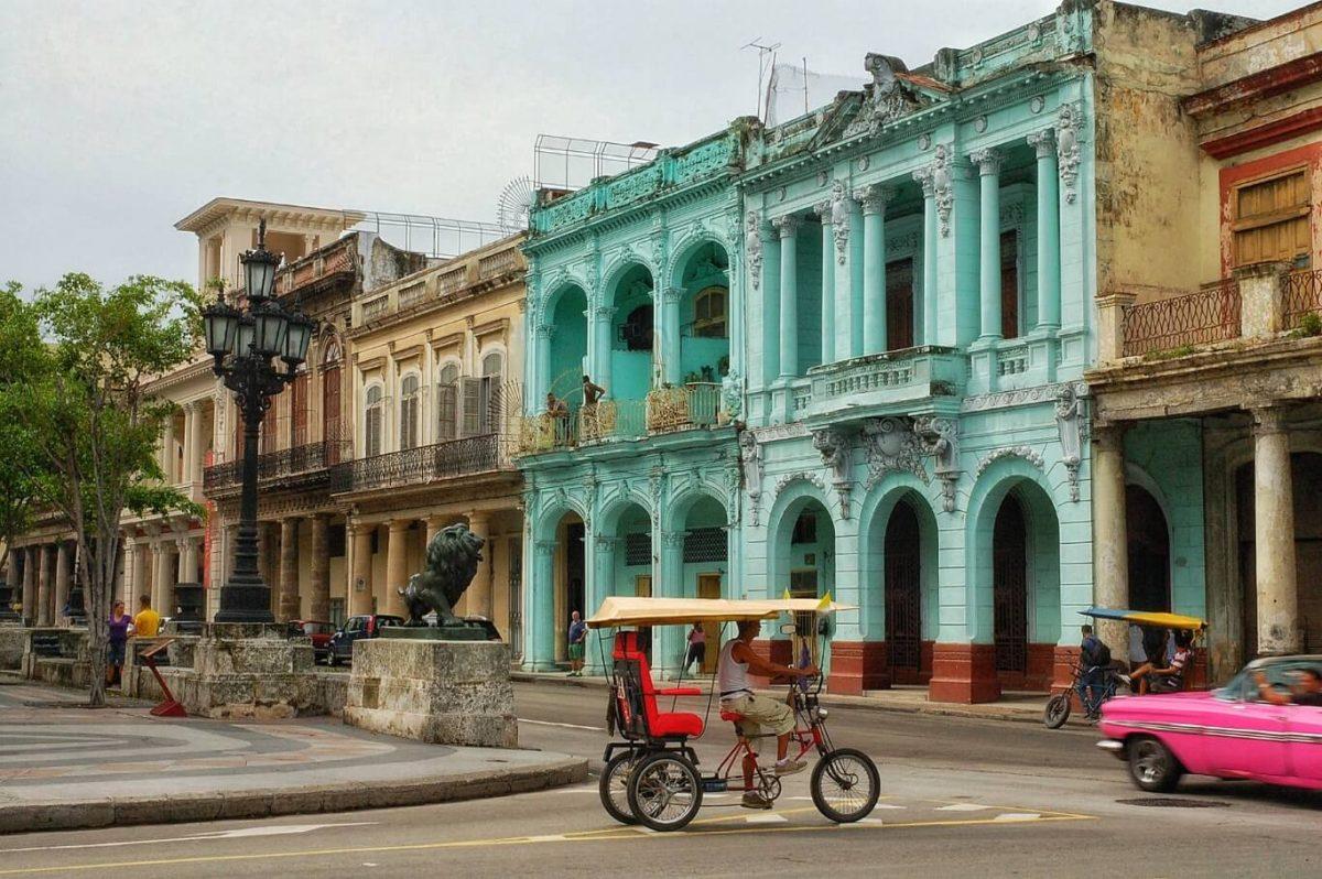Explore street scene Havana Cuba