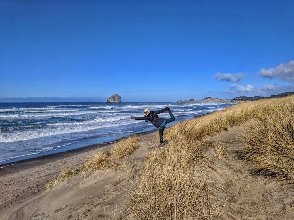 Bob Straub State Park along Oregon Coast road trip