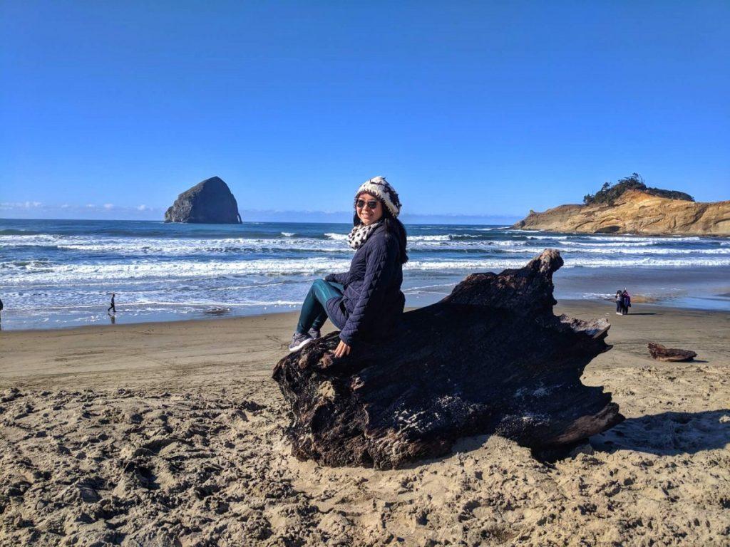 Haystack Rock at Cape Kiwanda, Oregon